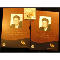 2015 Coin and Chronicles Set John F. Kennedy as issued by the United States Mint. In original holder