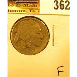 1913 D Type One Buffalo Nickel, Fine.