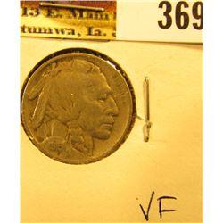 1915 P Buffalo Nickel, VF.