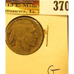 1915 D Buffalo Nickel, Good.