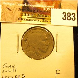 1924 S Buffalo Nickel, Fine, some small scrapes.