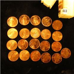 (4) One-Quarter Ounce Standing Liberty Coppers; (5) 1929 One-Quarter Ounce Indian Coppers; (4) One-Q