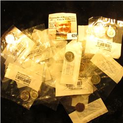2000 S & 2005 S Silver Proof Roosevelt Dimes; & (28) other BU or Proof Roosevelt Dimes in Littleton