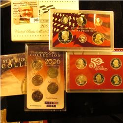 2007 S United States Mint Silver Proof Set in original box of issue.