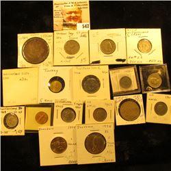 1994 Slovenia tolar Y4 UNC;1994 Slovenia 5 tolarjev Y6 UNC; 1944 Switzerland rappen Y3a EF-AU; 1946