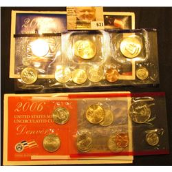 2006 P & D U.S. Mint Set. Original as issued. Issued at $16.95, this set includes $5.82 face value w