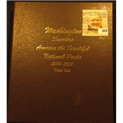 "Deluxe ""World Coin Library"" Coin Album for ""Washington Quarters America the Beautiful National Parks"