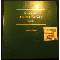 2005-2016 Partial Set of U.S. Kennedy Half Dollars including 2005P, D, 2006P, D, 2007P, D, 2008P, D,
