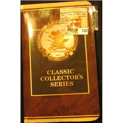 National Rifle Association Six Piece Set Classic Collectors Series & one extra medal in original fol