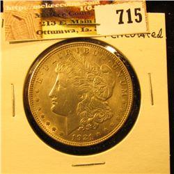 1921 P  U.S. Morgan Silver Dollar.