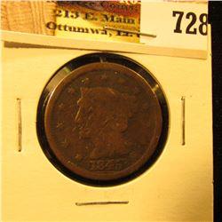 1845 U.S. Large Cent, Good.