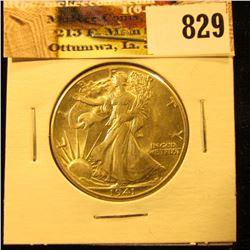1941 P U.S. Walking Liberty Half Dollar, Super Nice Coin.