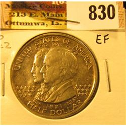 1921 State of Alabama Centennial Commemorative Half Dollar, No 2 x 2, EF.