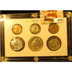 1961 U.S. Proof Set in a Special Capital holder.