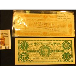 No. 23224  Tampa's Mystery Bucks… Tampa's Famous Professional Genuine Gypsy Fortune Tellin...Copyrig
