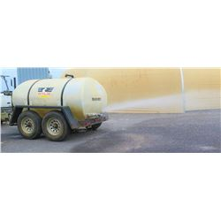 Wylie Water Trailer, EXP-800-S, 800-Gallon, Trailer-Mounted, Rear Spray