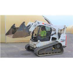 "2014 Bobcat T770 Compact Skidsteer Trackloader w/ 84"" Bucket, 533 Hours"