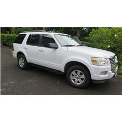 2010 Ford Explorer, 36,283 Miles, Title/Reg/Safety Check Current (Not Part of Herc Rentals Fleet)