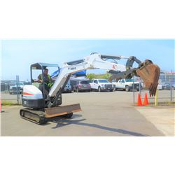 (Located in KONA, HAWAII) 2013 Bobcat E35 Mini Excavator, 2022 hours