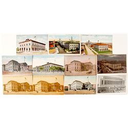San Francisco and Denver Mint Postcards