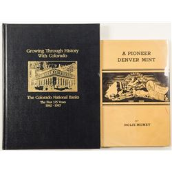 Denver Mint  and Bank Books (2)