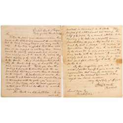 Significant Historical Letter Hinting at the Possibility of a Mint in Georgia