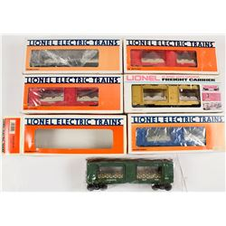 Lionel O Gauge U.S. Mint Electric Trains, New In The Boxes (6)