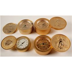 St. Gaudens $20 Gold PIece Clocks