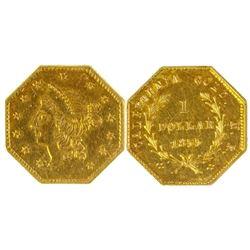 Octagonal Gold Dollar, BG 533