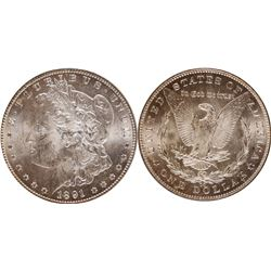 1891 Carson City Morgan Dollar