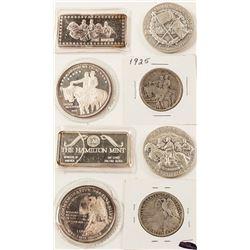 Stone Mountain Silver Pieces