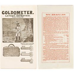Goldometer Advertisement Catalogue