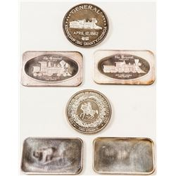 """""""The General"""" Silver Bars"""