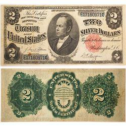 $2 Silver Certificate