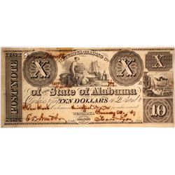 $10 Wetumpka Trading Company Note
