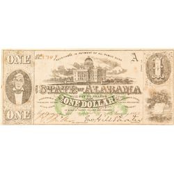 Confederate $1 Bill