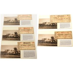 """The General"" Railway Scrip and Postcard Set 1"
