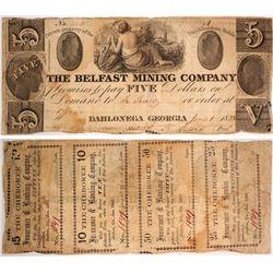 $5 Belfast Mining Company