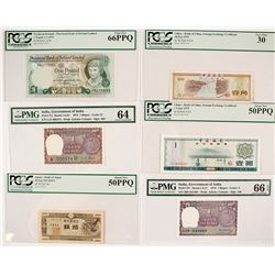 Certified Foreign Currency Collection