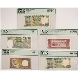 Southeast Asia Certified Currency