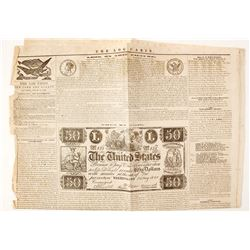 Numismatic Newspaper Article about Currency