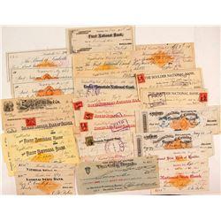Colorado Check Collection including Revenue & Rarities