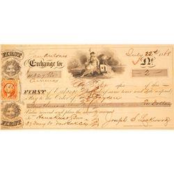 San Antonio, Texas, First of Exchange, 1868
