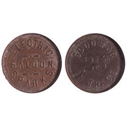 Electric Saloon, Sparks, NV Token