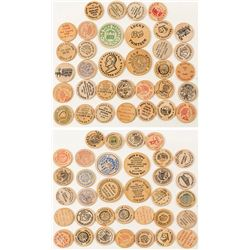 Wooden Nickel Collection