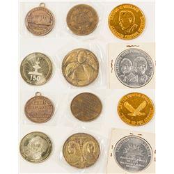 Six Alabama Medals