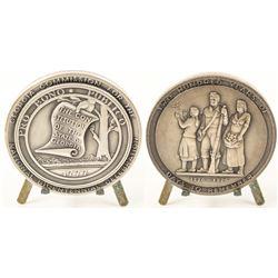 Bicentennial Georgia Silver Medal