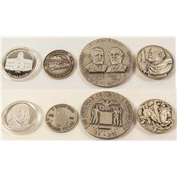 Four Georgia Silver Medals