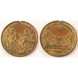California Spanish American War Medal