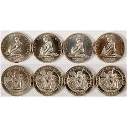 Pocahontas Silver Medallions